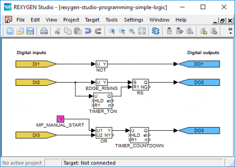 Programming in REXYGEN Studio