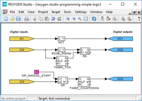 Programming in REXYGEN Studio