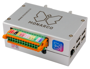 Monarco HAT and Raspberry Pi (REXYGEN platform)