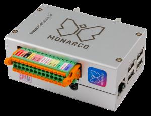 Monarco HAT and Raspberry Pi (REXYGEN platform)